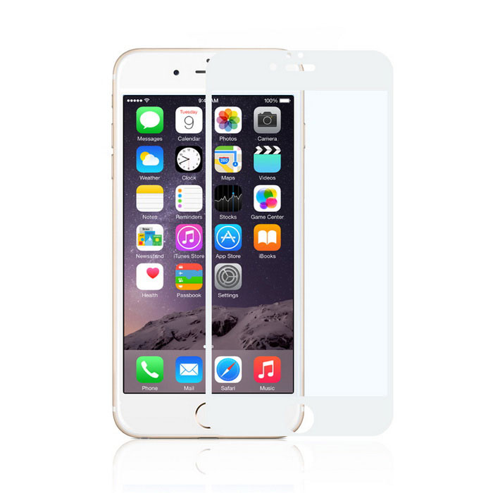angibabe anti-blue-ray karkaistua lasia elokuva iPhone 6 PLUS - white