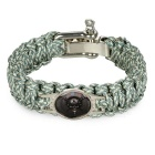 FURA 7-Core Bracelet for Outdoor Emergency Survival - Blue Camouflage
