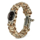 FURA 7-Core Bracelet for Emergency Survival - Yellow + Multicolor