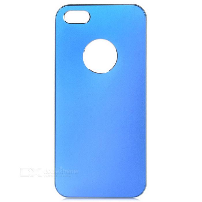 Kinston Protective Aluminum Alloy Back Case for IPHONE 5 / 5S - Blue