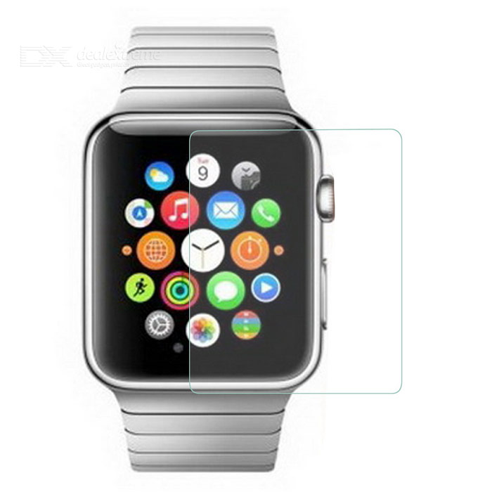 0.2mm 9H Tempered Glass Film for APPLE WATCH 42mm - Transparent