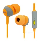 SSK EP-AM15S 3.5mm Plug In-Ear Earphones w/ Mic. for IPHONE, Samsung & More - Yellow + Grey