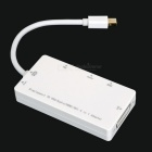 Mini DisplayPort to VGA / Audio / HDMI / DVI Adapter Cable - White