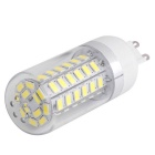 G9 12W LED Corn Light Bulb White Light 1020lm 6000K 60-5730 SMD (AC 85~265V)