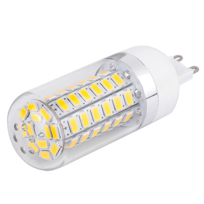 G9 12W LED Corn Light Bulb Warm White 1020lm 3000K 60-SMD (85~265V)
