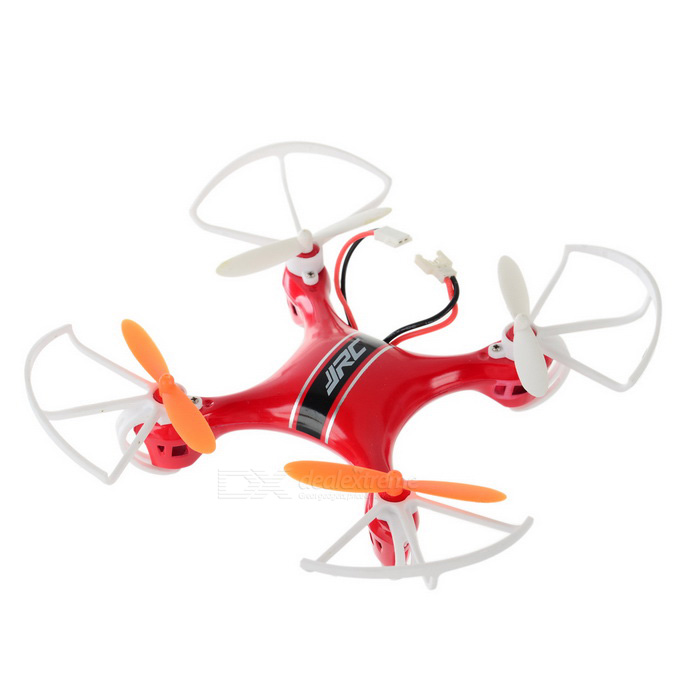 JJRC JJ-850 Headless 2.4GHz 6-Axis Gyro 4-CH R/C Quadcopter - Red + Multicolor(SKU 394679)