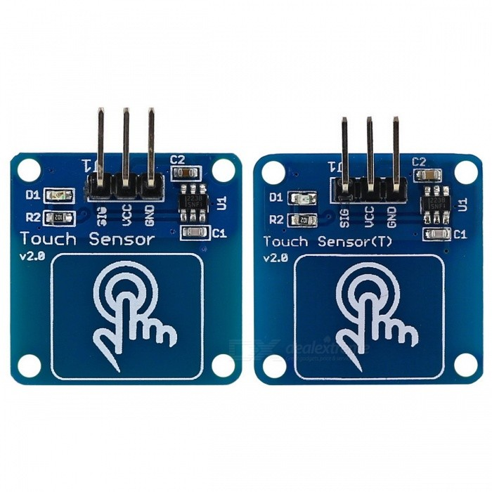 kit de sensor de toque capacitivo módulo digital de ouro switch para arduino