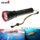 UltraFire DV-310 XM-L2 U2 4-LED 3600lm Stepless Adjusted Diving Flashlight ( 2 x 26650 )