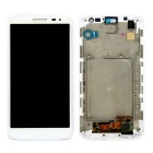 "Skiliwah LCD Display Touch Screen Digitizer Assembly w/ Frame + Tools for 4.9"" LG G2 MINI D618"