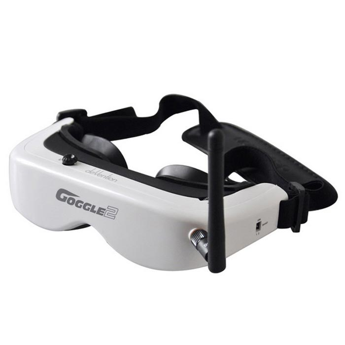 Walkera 5.8GHz B Segment 8-CH 3D Glasses w/ Head Tracking System