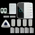 AG-security Wi-Fi GSM GPRS Wireless 433MHz Smart Home Security Alarm System (EU Plug)