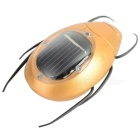 Educational Solar Powered Scarab Toy lapsille-Golden + Black