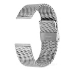 Mini Smile Stainless Steel Coarse Mesh Watchband w/o Attachment for APPLE WATCH 42mm - Silver