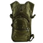 Outdoor Tactical 800D Oxford Double Shoulder Backpack Bag - Dark Green