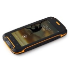 "F6 4.5"" QHD Quad-Core Android 4.4 Phone w/ 1GB RAM, 8GB ROM - Yellow"
