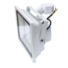 JIAWEN impermeable 50W LED cuerpo humano IR sensor floodlight 6500K - blanco