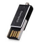 Ourspop OP-3001 Portable Flash Memory USB Flash Drive for Smart Phones / Tablet PCs - Black (16GB)