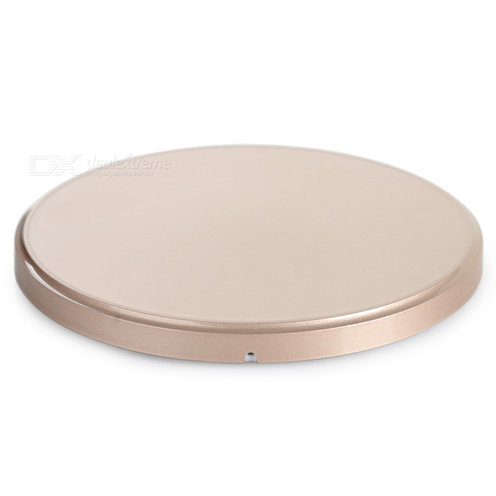 QI Wireless Charger for Samsung Galaxy S6 Edge + More - Champagne gold