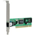 PCI 10/100Mbps Network Card Ethernet LAN Adapter for Desktop Computer - Green