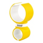 Lenuo 360° Rotatable Car / Bike Mini Mount Holder for GPS / IPHONE 6 / 6 PLUS & etc - Yellow + White