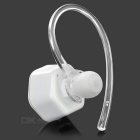 Cwxuan Hexagon Shaped BT V4.0 In-Ear Music Headset w/ Mic - White