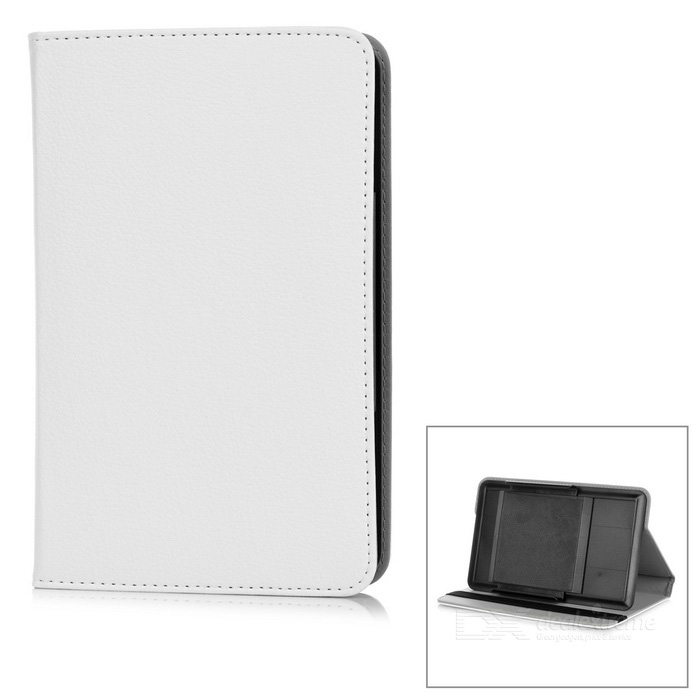"Protective Full Body Case Cover w/ Stand for 7"" Tablet PC - White"