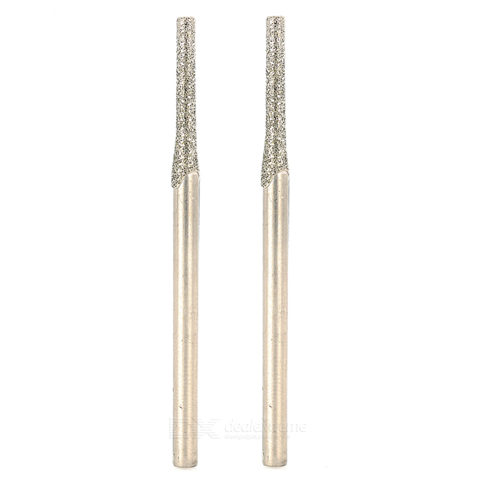 2mm Jade Diamond Stone Drill Bit / Punching Needle (2PCS)