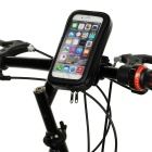 Cwxuan Bicycle Mount Touch Screen Case for Samsung S6/S6 Edge - Black