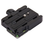 577 Rapid Connection Adapter w/ Qucik Release Plate 501PL for Manfrotto 3433PL - Black