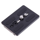 Video Tripod Head Quick Release Plate Adapter for WeiFeng WF-717 / EI-717 WF-717A / 727 / 737- Black