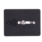 Video Tripod Quick Release Plate Adapter for WeiFeng WF-717 - Black
