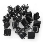 12 x 12 x 7 mm Tact Switches (20 PCS)