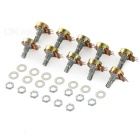 B500K 15mm 3Pin Monotroded Single Resistor Potentiometers (10PCS)
