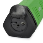 EARSON ER160 Mini Subwoofer Bluetooth V4.0 Speaker w/ TF - Green