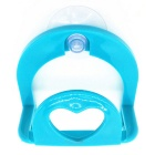 Creative Multi-functional Heart-Shaped Suction Cup Hook - Blue
