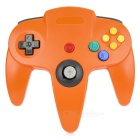 ABS Wired Game Console Controller for N64 - Orange + Yellow + Multicolor