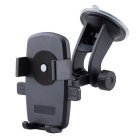 Universal Windshield Dashboard Car Mount Holder for IPHONE 6 / SAMSUNG S6 + More - Black