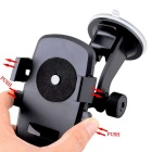 Universal Car Mount Holder w/ Extendable Neck for Samsung S6 - Black