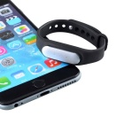 Impermeável e anti-lost BT 4,0 smart bracelete para ios, android - preto