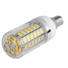 E14 12W LED Corn Bulb Lamp Warm White Light 3000K 1020lm - White (AC 85~265V)