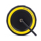 Mrice Mini Tyre Style Bluetooth V3.0 Speaker w/ TF - Yellow + Black