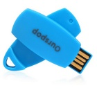 Ourspop OP-3003 Multi-function USB 2.0 Flash Drive - Blue (8GB)