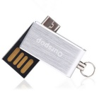 Ourspop OP-3001 16GB USB Flash Memory Drive for Phone, Tablet - Silver