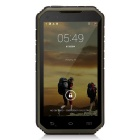 "Digoor DG2 Plus Waterproof 5"" IPS Android 4.4 Quad-Core 3G Rugged Phone w/ 8GB ROM, Wi-Fi - Green"