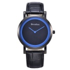 BESTDON BD9969 Men's Fashionable Waterproof Quartz Wrist Watch - Black + Blue(1 x SR621)