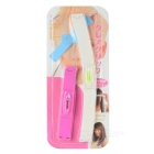 Frisette Cutter Tool + Ponytail Hair End Cutter Clip - Pink + White