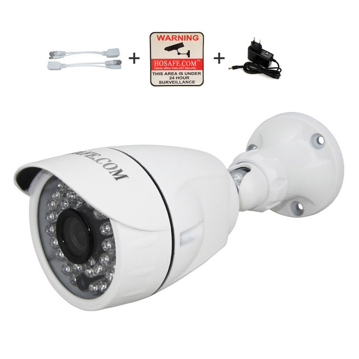 HOSAFE 13MB6 1.3MP 960P HD Outdoor IP Camera - White (EU Plug)