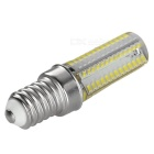 E14 8W 300lm Bluish White 104-SMD 3014 LED Lamp - Silver (5PCS)