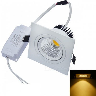 JIAWEN 10W Dimmable Anti-glare COB LED Ceiling Light Warm White 800lm