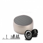 Portable Super Bass Hi-Fi Stereo Wireless Bluetooth Speaker - Golden